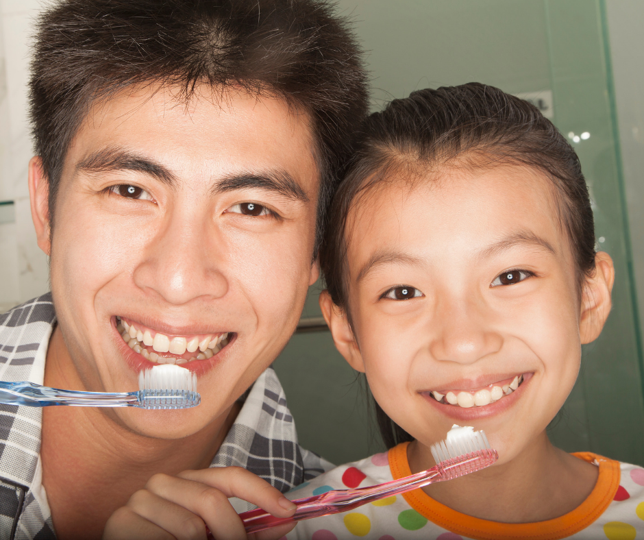 Tooth Brushing is Team Sport - Dentistry for Children