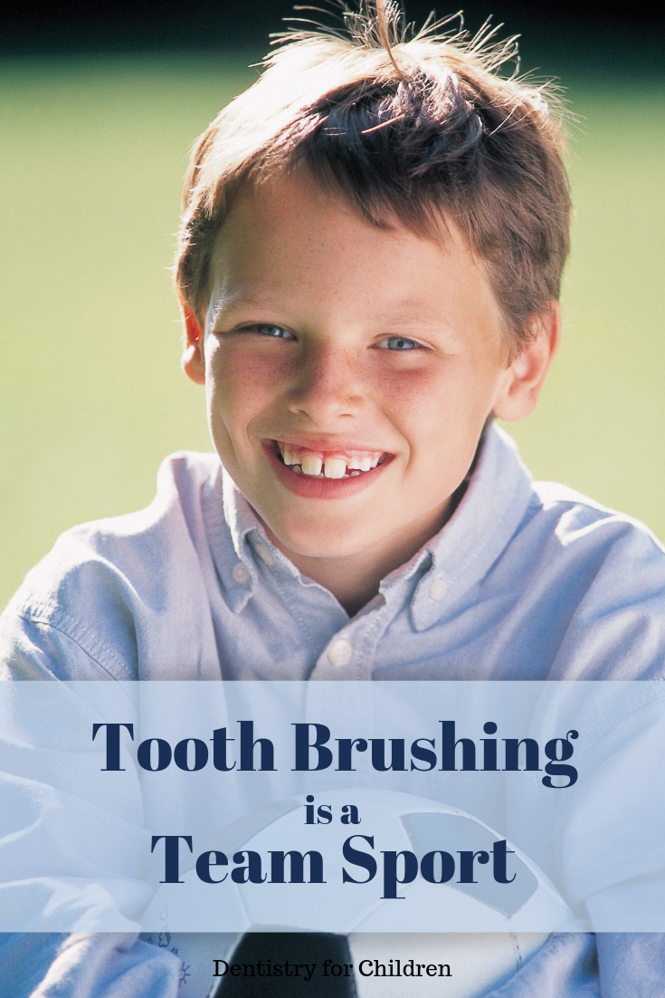 What's the best age for your child to brush on their own? Might be later than you think ...